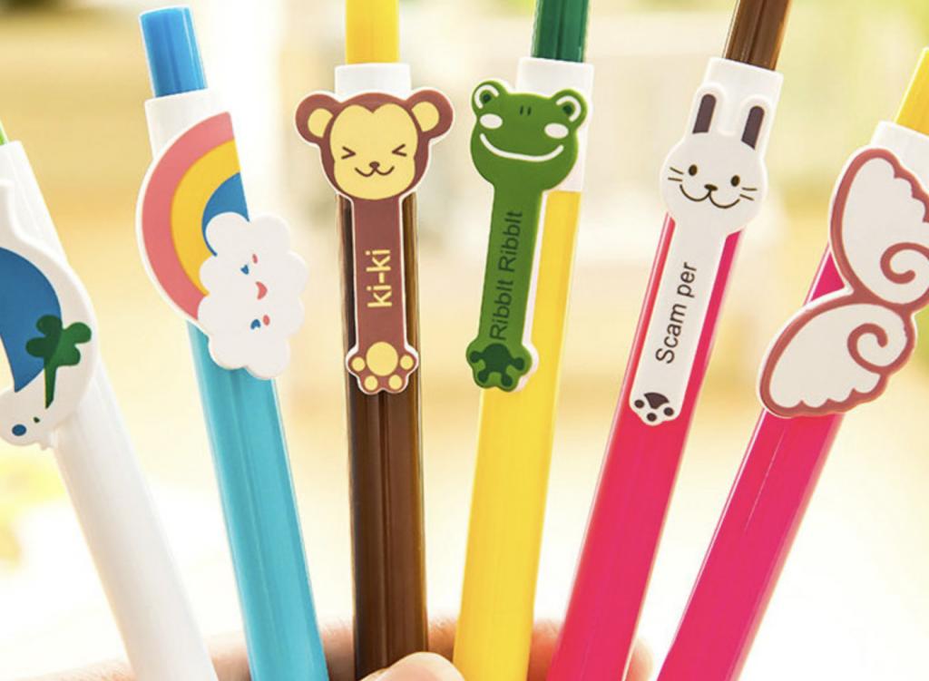 韓国のボールペン