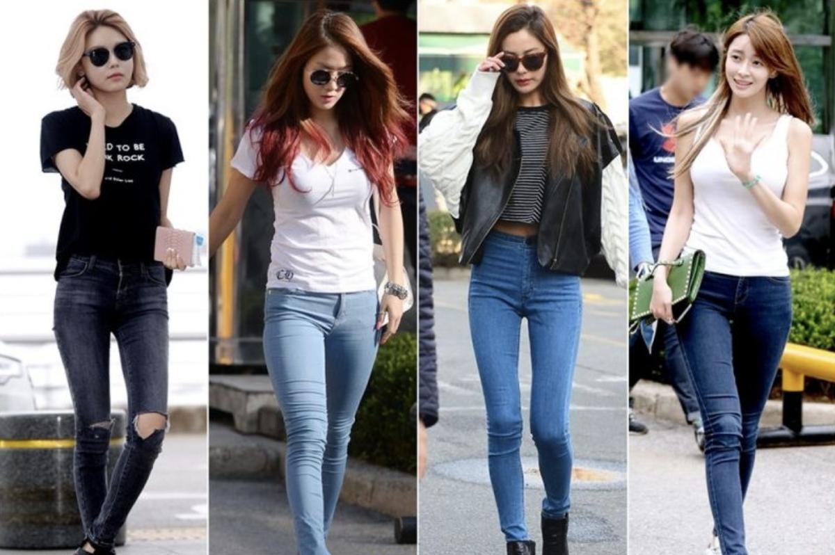 韓国アイドル 空港ファッション