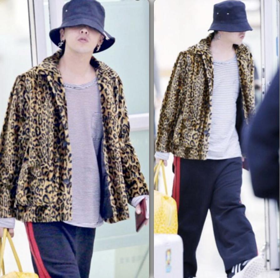 g-dragon 空港ファッション