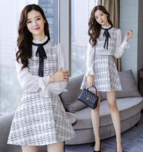 韓国の女子大学生の服装