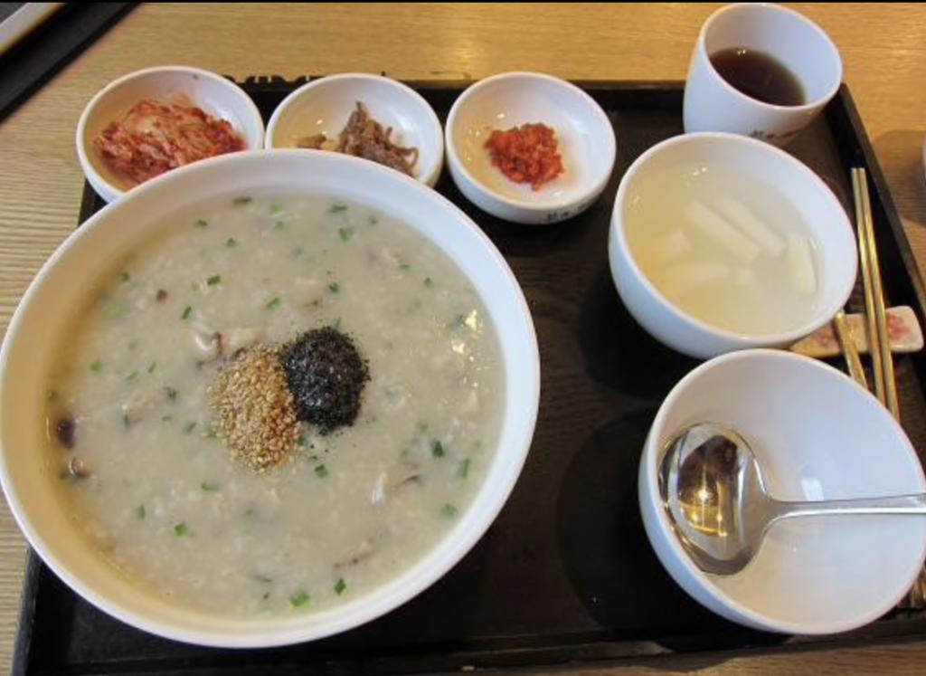 韓国のお粥
