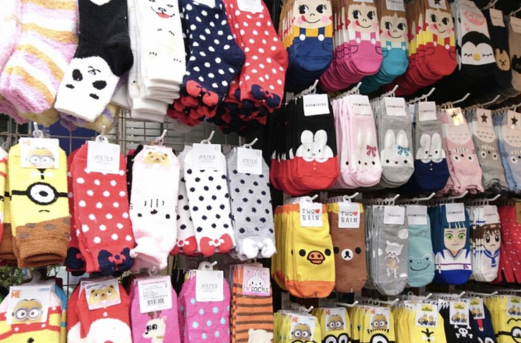 韓国の人気靴下