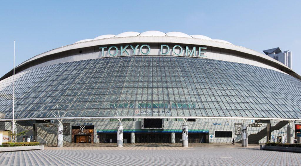 SMTOWNの会場は東京ドーム